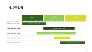 조경식재공사업 신년도사업계획서 (건설) #23