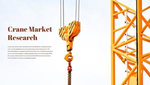 공사장, 건축, 크레인 Crane Market PPT
