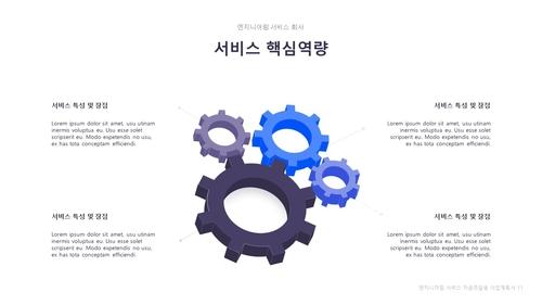 엔지니어링 서비스 자금조달용 사업계획서 - 섬네일 12page