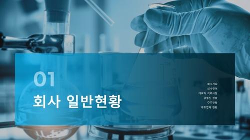 연구 개발업 자금조달용 사업계획서 - 섬네일 3page