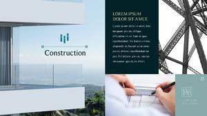 Construction Design 건축 디자인 템플릿