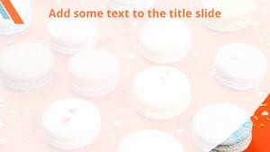 달콤한 디저트 (Sweet dessert) Powerpoint 배경
