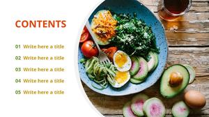 다이어트 이미지 (Diet image) 파워포인트 디자인