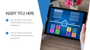 스마트 홈 (Smart Home) 템플릿 배경
