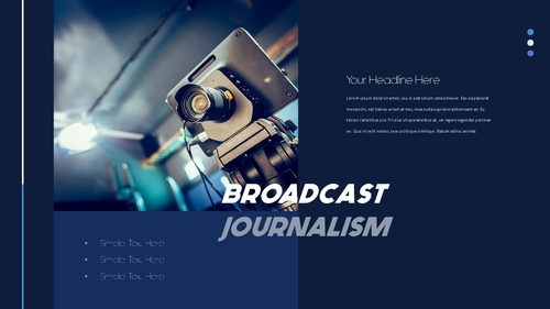 뉴스 미디어 현황 (News Media) 템플릿 - 섬네일 6page