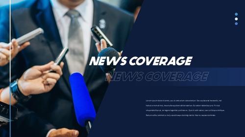 뉴스 미디어 현황 (News Media) 템플릿 - 섬네일 19page