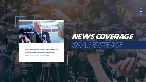뉴스 미디어 현황 (News Media) 템플릿 - 섬네일 20page