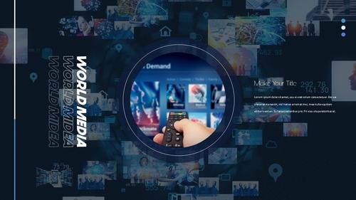 뉴스 미디어 현황 (News Media) 템플릿 - 섬네일 23page