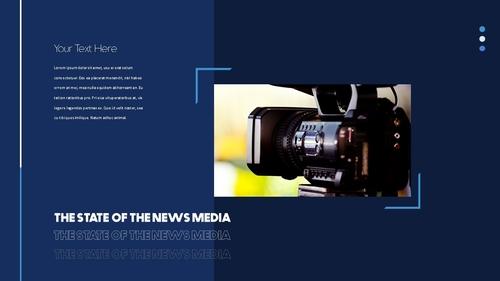 뉴스 미디어 현황 (News Media) 템플릿 - 섬네일 29page