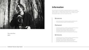 Portrait Photography (인물 사진) template