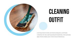 청소 (Cleaning) 비즈니스 템플릿