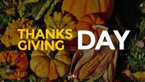 추수감사절(Thanksgiving Day) 템플릿 #1
