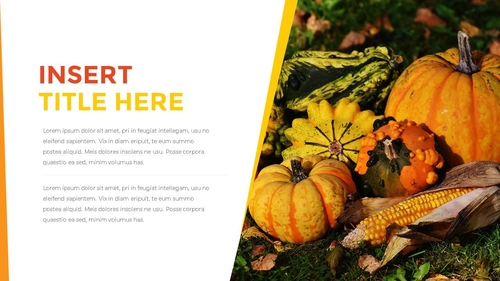 추수감사절(Thanksgiving Day) 템플릿 - 섬네일 6page