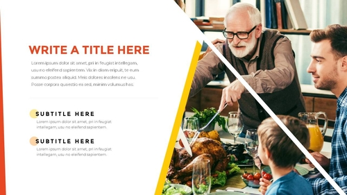 추수감사절(Thanksgiving Day) 템플릿 - 섬네일 8page