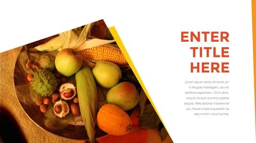 추수감사절(Thanksgiving Day) 템플릿 - 섬네일 10page
