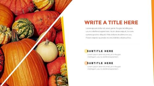 추수감사절(Thanksgiving Day) 템플릿 - 섬네일 14page