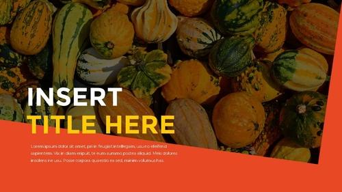 추수감사절(Thanksgiving Day) 템플릿 - 섬네일 16page