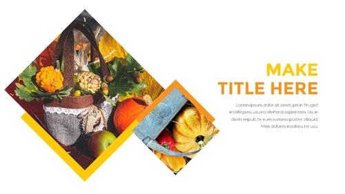 추수감사절(Thanksgiving Day) 템플릿 - 섬네일 19page