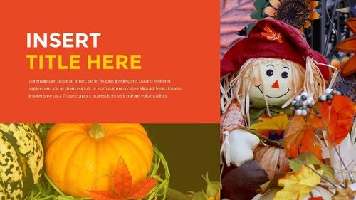 추수감사절(Thanksgiving Day) 템플릿 - 섬네일 20page