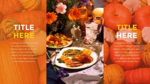 추수감사절(Thanksgiving Day) 템플릿 #21