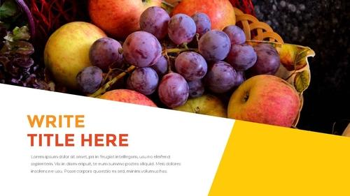 추수감사절(Thanksgiving Day) 템플릿 - 섬네일 24page