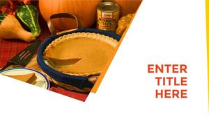 추수감사절(Thanksgiving Day) 템플릿 #34