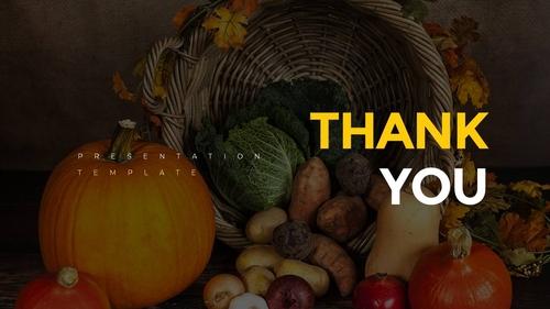 추수감사절(Thanksgiving Day) 템플릿 - 섬네일 40page