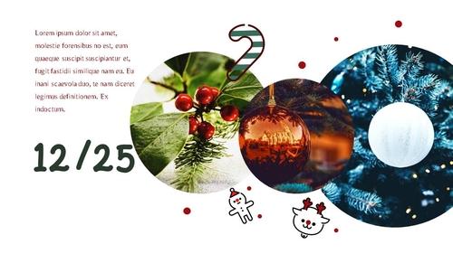 크리스마스 (Merry Christmas) 파워포인트 - 섬네일 2page