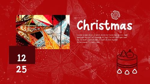 크리스마스 (Merry Christmas) 파워포인트 - 섬네일 3page