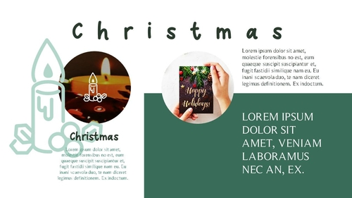크리스마스 (Merry Christmas) 파워포인트 - 섬네일 4page