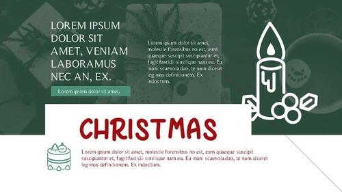 크리스마스 (Merry Christmas) 파워포인트 - 섬네일 6page