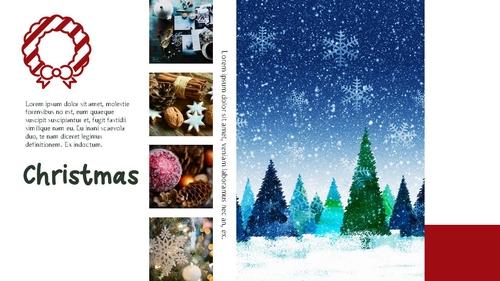 크리스마스 (Merry Christmas) 파워포인트 - 섬네일 7page