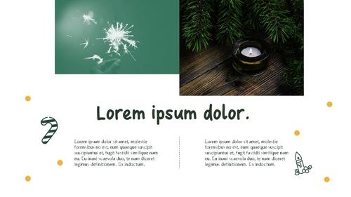 크리스마스 (Merry Christmas) 파워포인트 - 섬네일 8page