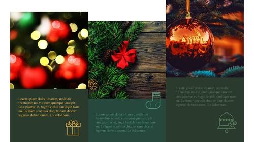 크리스마스 (Merry Christmas) 파워포인트 - 섬네일 9page