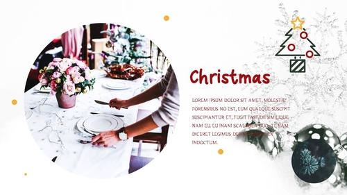 크리스마스 (Merry Christmas) 파워포인트 - 섬네일 11page