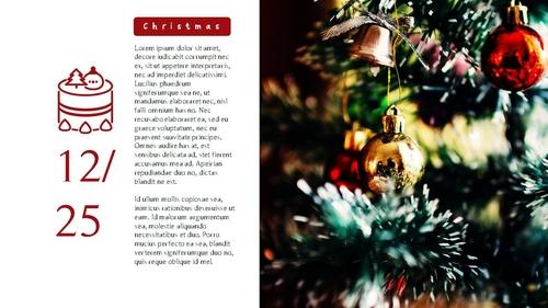 크리스마스 (Merry Christmas) 파워포인트 - 섬네일 12page
