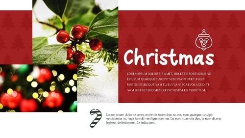 크리스마스 (Merry Christmas) 파워포인트 - 섬네일 13page