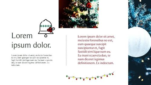 크리스마스 (Merry Christmas) 파워포인트 - 섬네일 14page