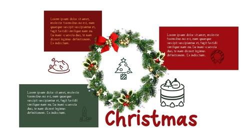 크리스마스 (Merry Christmas) 파워포인트 - 섬네일 16page