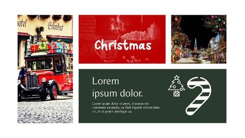 크리스마스 (Merry Christmas) 파워포인트 - 섬네일 19page
