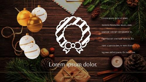 크리스마스 (Merry Christmas) 파워포인트 - 섬네일 25page