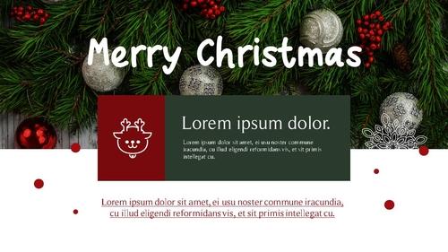 크리스마스 (Merry Christmas) 파워포인트 - 섬네일 28page