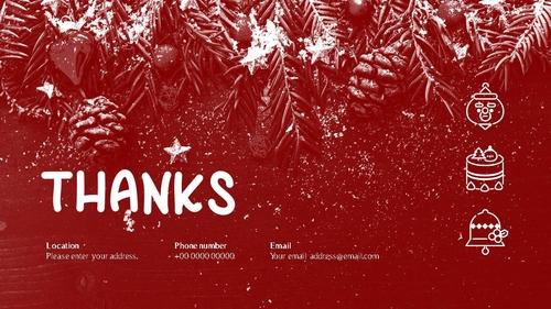 크리스마스 (Merry Christmas) 파워포인트 - 섬네일 40page