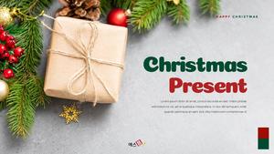 크리스마스 선물 파워포인트 프레젠테이션 #1