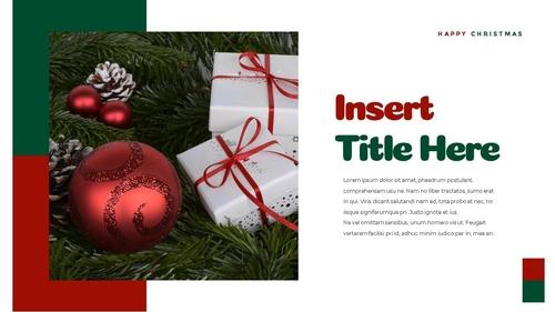 크리스마스 선물 파워포인트 프레젠테이션 - 섬네일 4page