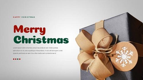 크리스마스 선물 파워포인트 프레젠테이션 - 섬네일 5page