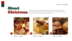 크리스마스 선물 파워포인트 프레젠테이션 #6