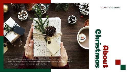 크리스마스 선물 파워포인트 프레젠테이션 - 섬네일 10page