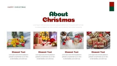 크리스마스 선물 파워포인트 프레젠테이션 - 섬네일 14page