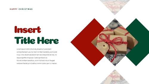 크리스마스 선물 파워포인트 프레젠테이션 - 섬네일 15page